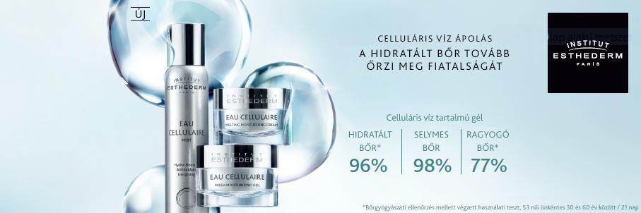 Celluláris víz tartalmú termékcsalád